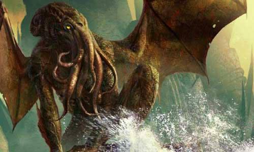 Inspirado en H.P. Lovecraft